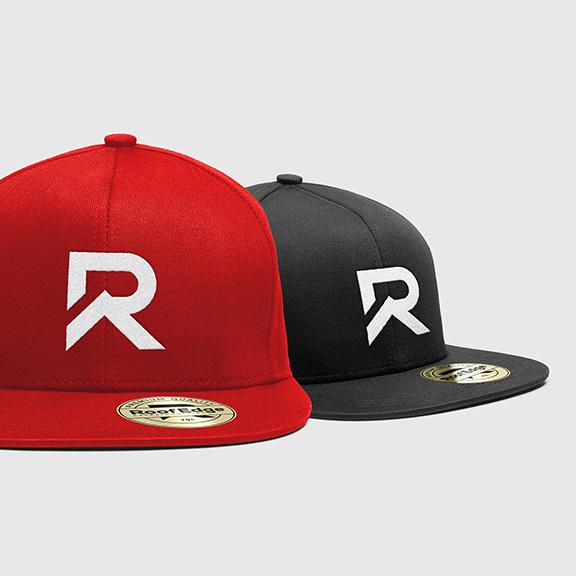 RoofEdge-Eavestroughing-Lethbridge-Logo-design-and-web-Design-by-Hybrid-Media-YQL-product-concept-hat